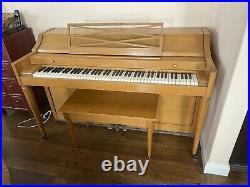 Baldwin Acrosonic Piano and Matching Bench