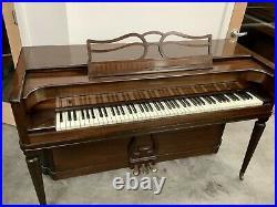 Baldwin Acrosonic Spinet Upright Piano 36 Satin Mahogany