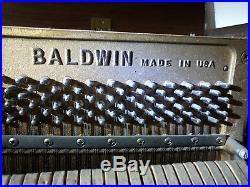 Baldwin Acrosonic Spinet Upright Piano with Bench