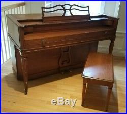 Baldwin Acrosonic Upright Piano, Made in USA