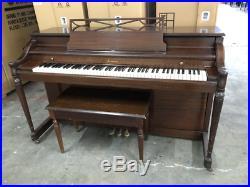 Baldwin Acrosonic console upright piano Walnut Los Angeles