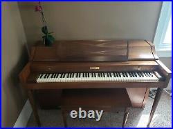 Baldwin Acrosonic upright piano (3 Pedals) 1966