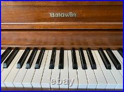 Baldwin Hamilton 246 Studio Upright Piano 45 Satin Walnut