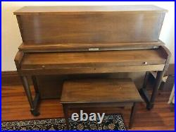 Baldwin Hamilton piano, used, one owner, made early 1970s
