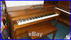 Baldwin Howard Spinet Piano w bench Lim. Delivery Inc