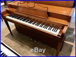 Baldwin Howard Spinet Upright Piano 36 1/2 Satin Walnut