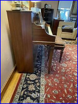 Baldwin Howard Upright Piano. It was bought in 1968 and was owned by one owner