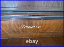 Baldwin piano Acrosonic by Baldwin french provincial upright piano & guitar