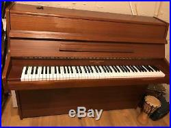Barratt & Robinson London Upright Piano, Mahogany