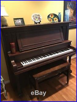 Beautiful 1920s Ellington Upright Piano