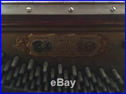Beautiful Antique Ludwig Upright Piano 1908