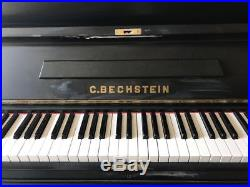 Beautiful C. Bechstein upright piano. Big sound