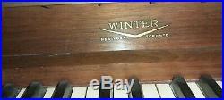 Beautiful Winter Brand piano