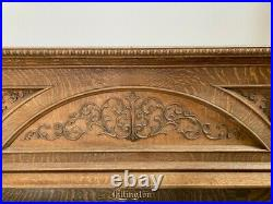 Beautifully Oak Carved Antique Ellington Upright Piano manufactured in 1905