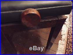Bechstein Concert 8 Full Upright Piano With Custom Walnut Burl Veneer