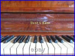 Bush & Lane Walnut Empire Revival Upright Piano & matching bench (Local PICK-UP)