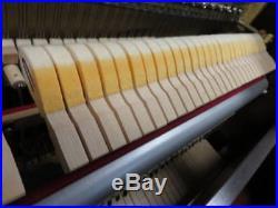CHARLES WALTER Hand Built Upright Piano Beautiful Cherry