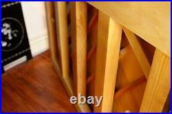 Charles R. Walter Piano Upright 43 Mahogany. Used with minor wear