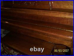 Charles R. Walter Piano With Humidity Sensor