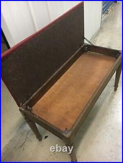 Chickering & Sons Spinet Piano With Bench