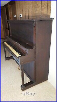 Collectible Antique 1920-21 Upright Grand Piano By Lester Piano of Philadelphia