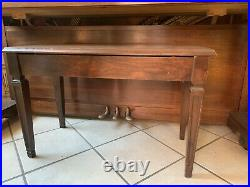 Currier Brown Piano And Bench