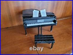 DOLLHOUSE MINIATURE ARTISAN CUSTOM STEINWAY UPRIGHT PIANO 1/6 Scale Barbie Size