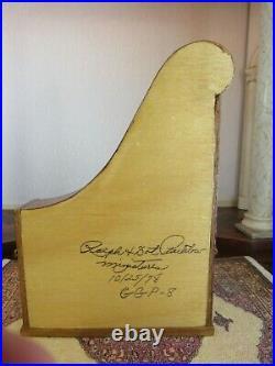 Dollhouse Miniature Giraffe Piano Ralph Partelow Artist Signed Upright Piano m