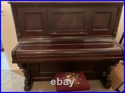 Everett Eastlake Upright Piano