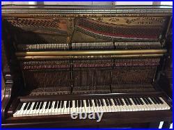 Gabler Victorian Upright Piano