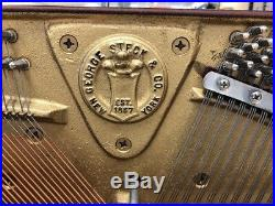 George Steck 72-Key Upright Piano Working! Local Pickup Only