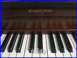 Hamilton Studio Piano
