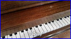 Hardman Peck & Co. New York Hamilton Piano with Bench & Sheet Music