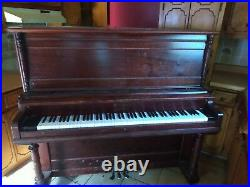 Hobart M. Cable Chicago Upright Piano- Used 1907