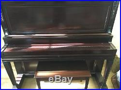 Ivers and Pond Antique Upright Piano