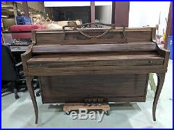 Ivers and pond standing console piano
