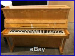 J. Becker Upright Piano 47 Polished Pine