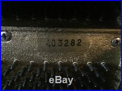 J Becker piano upright in black lacquer