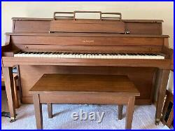 Janssen Upright Piano with bench