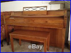 Jesse French and Sons Piano