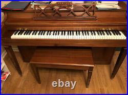 Jonas Chickering Spinet Piano for Sale