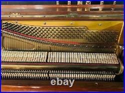 Jugendstil Klavier alles neu gestimmt wunderschöne Optik