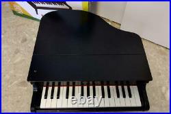 KAWAI Upright Baby Grand Piano 32 Keys toy Mini Piano Black Children Japan USED