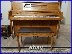KIMBALL UPRIGHT PIANO with BENCH Great Condition