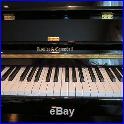 Kohler & Cambell Upright Glossy Black Piano