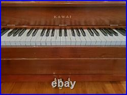 Kawai 505F Upright Console Piano in Satin Cherry MADE IN JAPAN 42H 58L 24W
