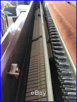 Kawai 506N Upright Piano 44 Satin Mahogany