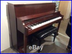 Kawai 506N Upright Piano with Player System 44 Satin Mahogany