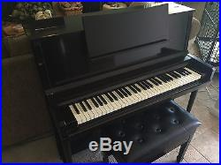 Kawai 64 Key Piano Marco-polo Apartment Size Acoustic 1950's