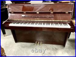 Kawai CE-7 Upright Piano 42 Polished Mahogany